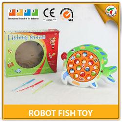 Most Popular Cartoon Electric Robot Fish Toy