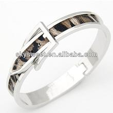 snake leather bracelet flat leather bracelet cowhide leather bracelet (SWTCXK0276-10)