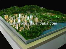 Modern plaza/garden landscape miniature model/ architectural scale model maker