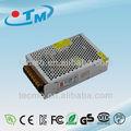 12v 100w constante tensión luces led 12v 8.5a de doble salida de suministro de energía con el ce rohs de la fcc