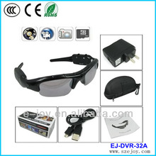 Promotion !! EJ-DVR-32A Crazy sell 640*480/1280*960 Max 16GB multifunction fashion Eye glasses