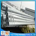 Por inmersión en caliente de acero galvanizado del poste tubular, tubos de acero tubos