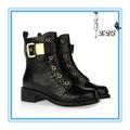 mulheres moda couro boot