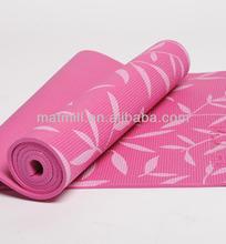 GYM/yoga clubs equipment professional PVC yoga mat foamed sticky yoga mats