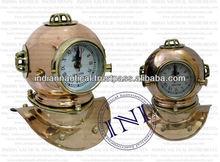Brass and copper diving helmet, Diving Helmet, Diving helmet for sale