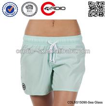 100% polyester little style direction girls board shorts Women's Sun Seeker Boardshort hot ladys Sea Glass board shorts