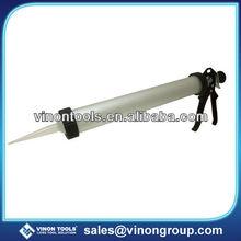 Aluminum Tube Sausage Caulking Gun , Silicone Gun.
