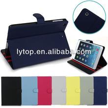 for ipad mini 2 stand plain pu leather case