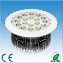 3 years warranty 18w High Power Bridgelux LED Downlight