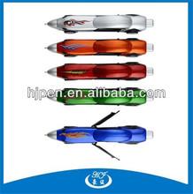 Good Shaped Best Selling Plastic Promotional Pen,Funny Pens for Promotion,Race Car Pens