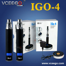 absolutely new arrival advanced electronic cigarette unique igo 4 for gentleman e cigarette with fantastic quality