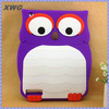 owl 3d cute animal soft silicone shockproof case for ipad 2 3 4 mini