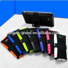 2 in 1 impact combo case for Nokia Lumia 820, PC+TPU with Kickstand