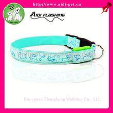 cheap led light dog collar/discount lighted pet collar