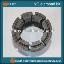 NQ drilling bit/NQ diamond rock core bit/NQ core drilling bit