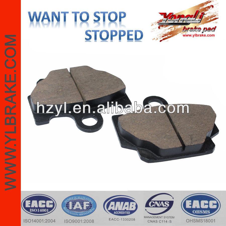 High quality motorcycle brake pad used aluminum brakes sale