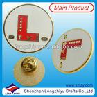 Plain Custom Round Imitation Hard Enamel Lapel Pin,Customized Brass Enamel Metal Lapel Pin Badge Emblem