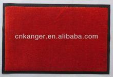 Nylon reinforced rubber door mat