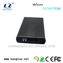USB3.0/SATA interface 3.5 sata hdd hard drive external enclosure