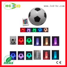romantic party/club/night bar multicolor led 1W-2W Brazil World Cup Football mood wireless light/lamp portable