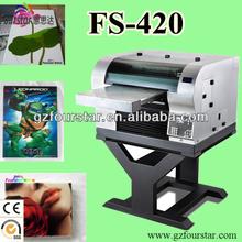 FS-420 eco solvent printer machine economic 9 color digital printing machine for sale,DTG