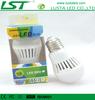 Flame Retardant Plastic E27/E26/B22,3W Cost Effective, Excellent Heat Dissipation,3W LED Light Bulb E27