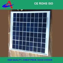 small poly solar panel 18V 4*9cells aluminium frame