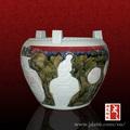 característica chinesa porcelana arte fotos de panelas de barro