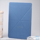 Transformer Flip PU Leather Fold Stand Case Protective Cover for Apple iPad Air/iPad 5--P-IPD5CASE087