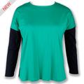 2015 damas nuevo diseño de las niñas tops y blusas
