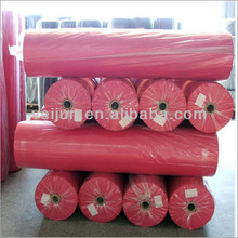 Pure color diamond design non woven big roll of fabric