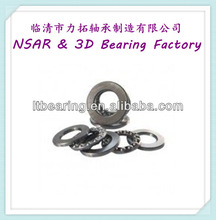 Steel /brass cage thrust ball bearing 52214 made in China