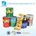 FDA certificatd automatic packaging scrap printed plastic film rolls for milk tea