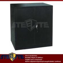 antique miniature chinese furniture/laptop Diy black complete garage equipment tool master chest metal 2 doors square pedestal
