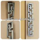 Antique bronze plated wooden door pull handle