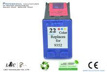 new refillable ink cartridge empty refill ink cartridge #22