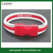 custom hockey wristlet wristband 2014 new team gift