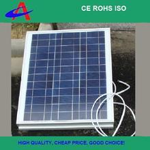 40W solar panel 18V 3*12s aluminium frame for 12V battery charging,Hot sale!