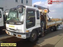 Stock#34263 ISUZU FORWARD 2.5 TON CRANE USED TRUCK FOR SALE [RHD][JAPAN]