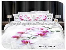 SHINE SPRING BEDDING SET, 3d printed bedding set,big flower printed,king/queen/twin size