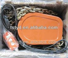 hand chain block 12V~380V electric hoist lifting chain hoist crane chain block of fohan tongda