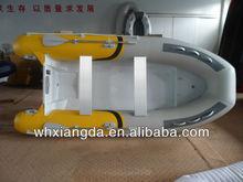 aluminum fishing rigid inflatable pro sport zapcat boat for sale with boat fender yamaha boat motors