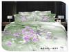 SHINE SPRING BEDDING SET, 100% COTTON REACTIVE PRINTED Bedding Set flower design 3D hot style!, 3D effect bedding set