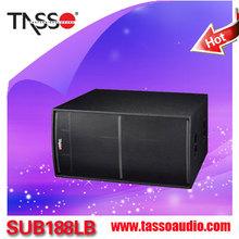 SUB188LB- profesional dj mixer speaker,home subwoofer audio,professional speakers line array