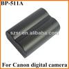 Recharge li-ion battery BP-511A For Canon EOS 30D 40D