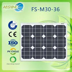 pv solar panel 30w 130W 150W 250W 300W