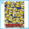 CARTOON stand leather case COVER FOR IPAD 2 3 4 DESPICABLE ME MINION cute