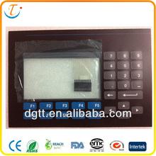 3 pcs matrix array household appliance switch dc numeric tactile foil membrane button