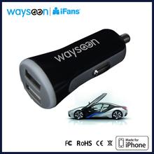 Mini Bullet Dual USB 2-Port Car Charger Adaptor 3.4A for iPhone 5 4S 4 IPAD2 3 4 ipod