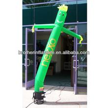 Dancer Green Aadvertising Inflatables